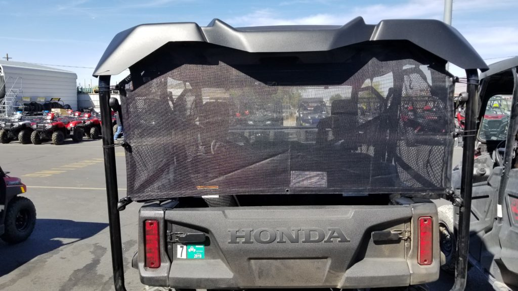 Pioneer 1000 5 Rear Cab Rear Window Panel Motoroof