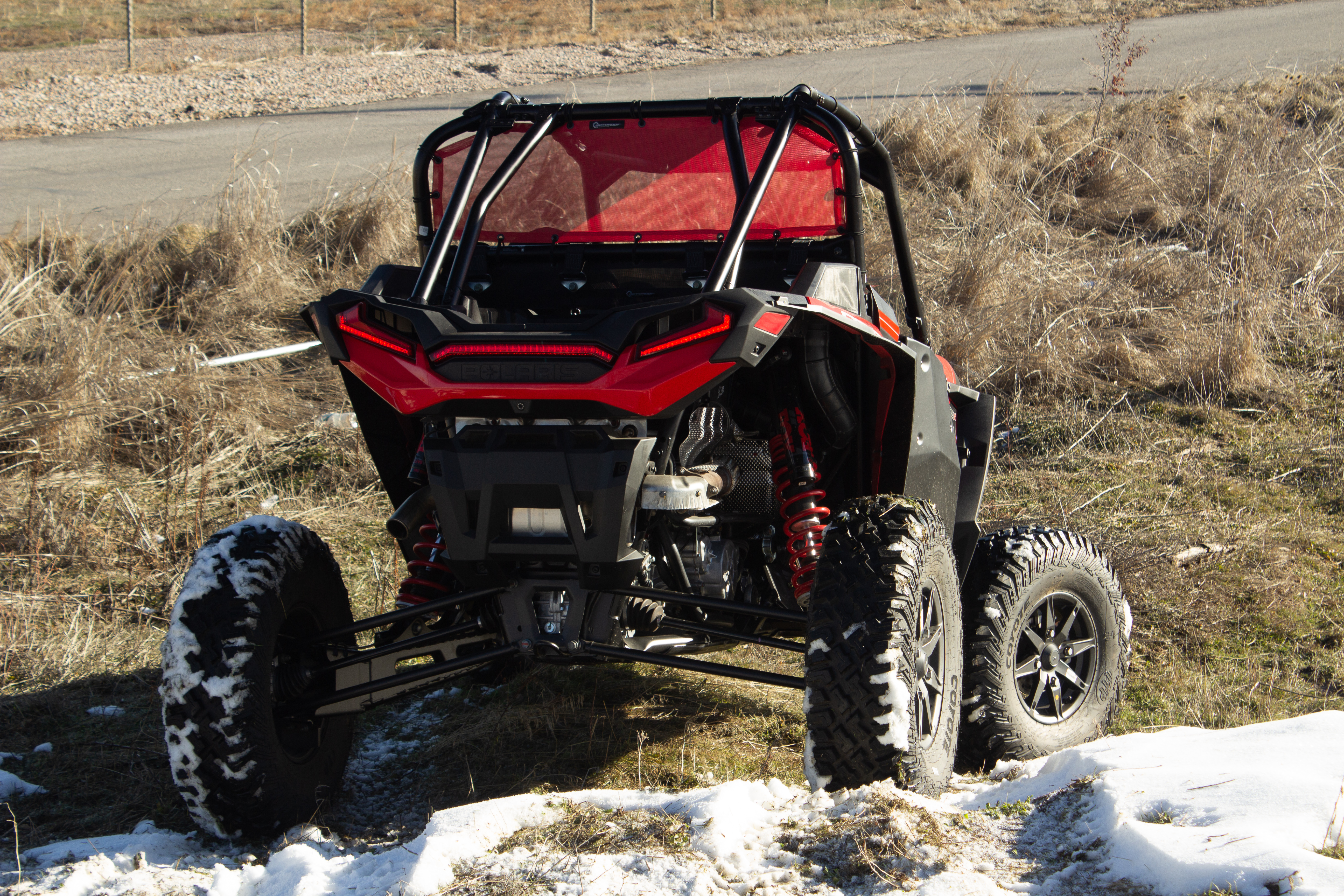 Polaris RZR Turbo S Red